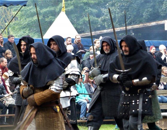 Ritterfestspiele auf Burg Satzvey, Markt und Ritterlager