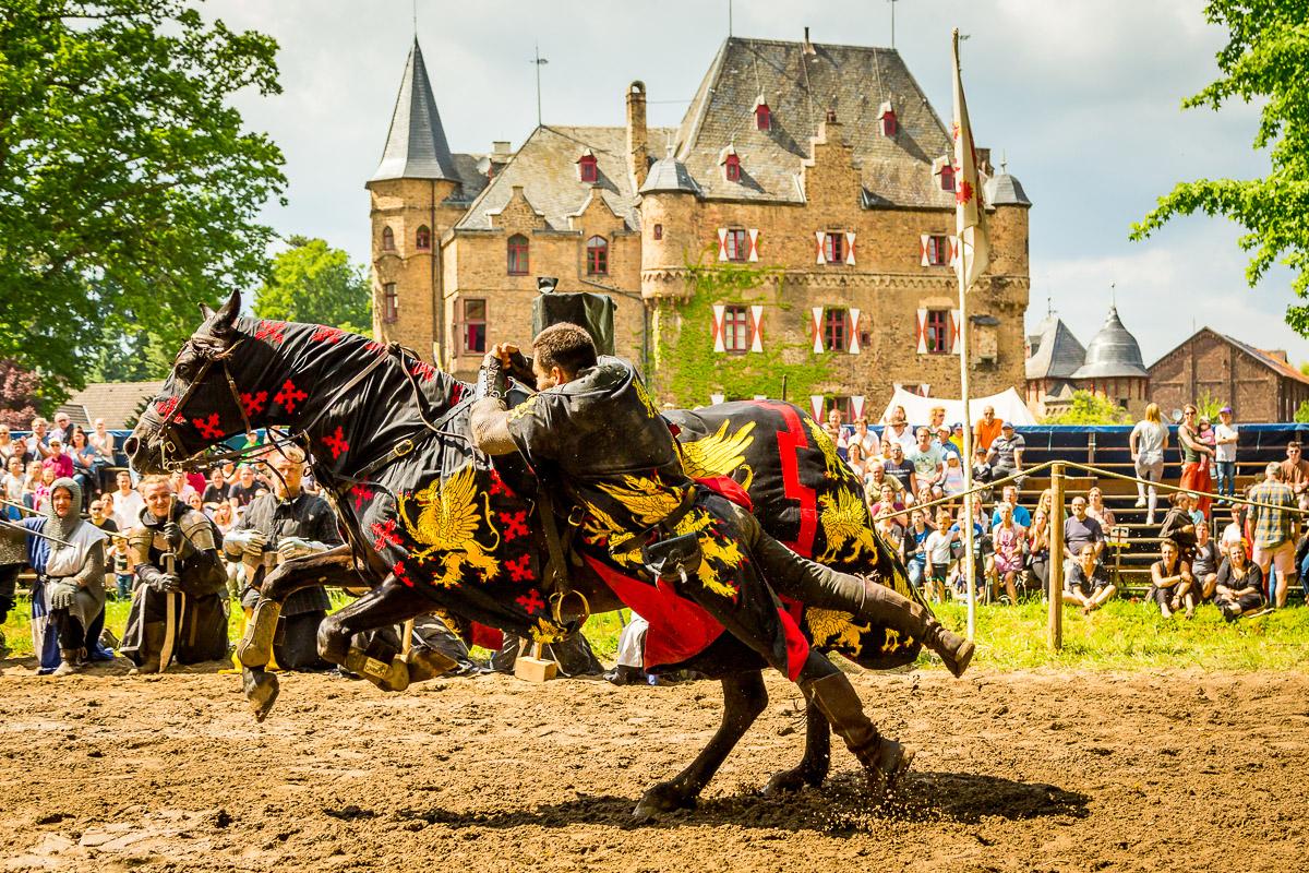 Ritterspiele auf Burg Satzvey im September