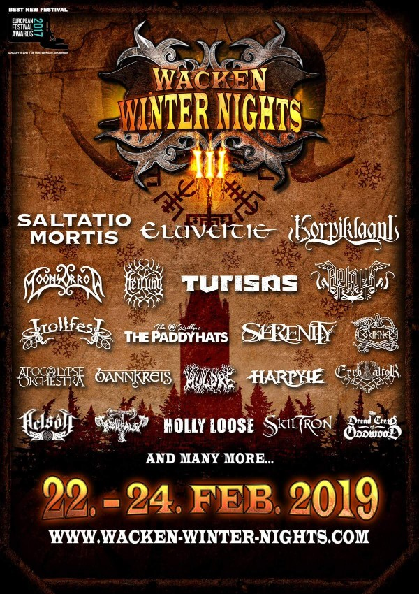 Wacken Winter Nights 2019 – 22.-24.02.2019