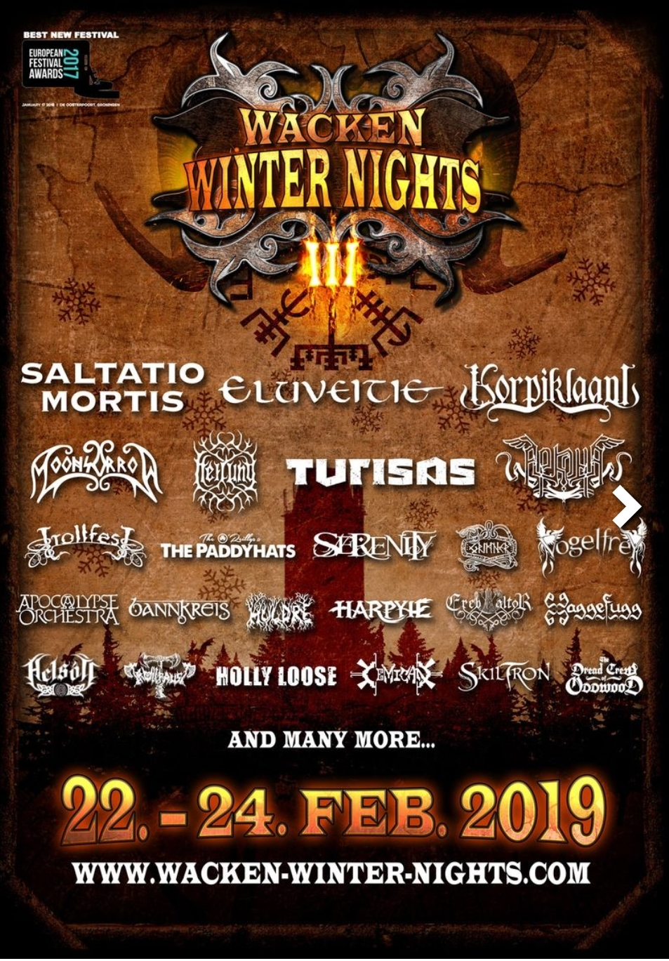 Wacken Winter Nights 22.-24.2.19
