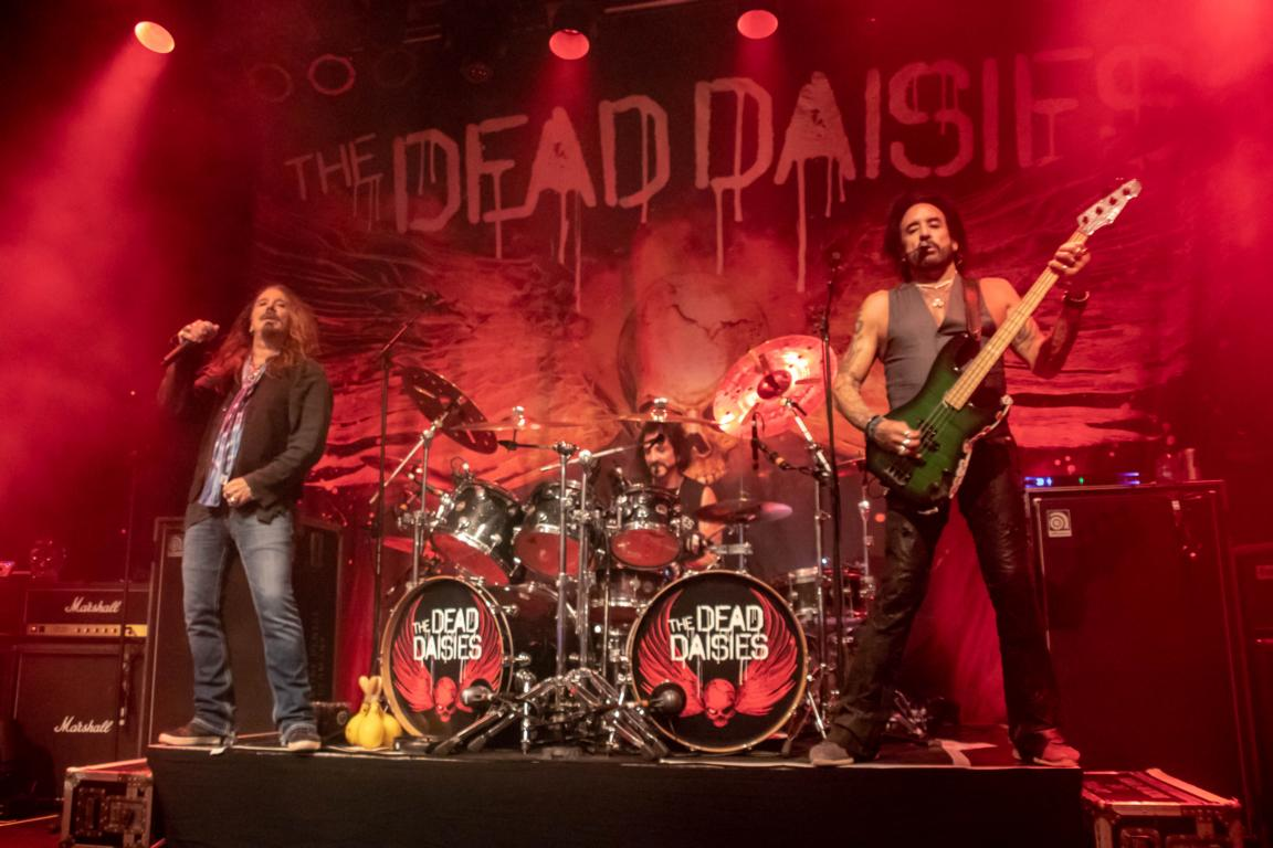 The Dead Daisies -Welcome to Daisyland Tour in Weert/NL