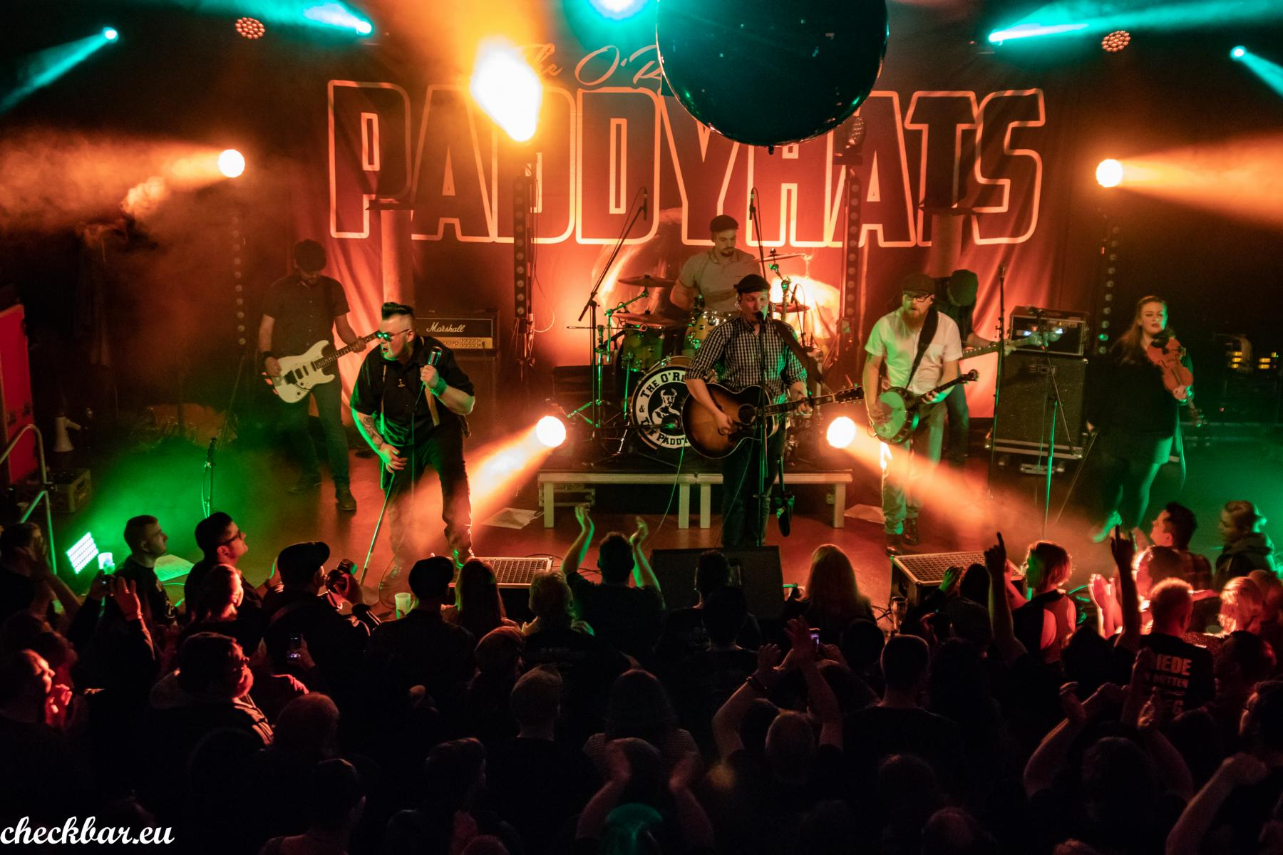 The O'Reillys and The Paddyhats und Kings & Boozers am 15.03.19 Kulttempel Oberhausen