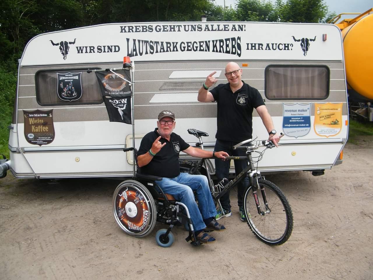 Vom RaS zum W:O:A – 483 km im Rollstuhl für den guten Zweck