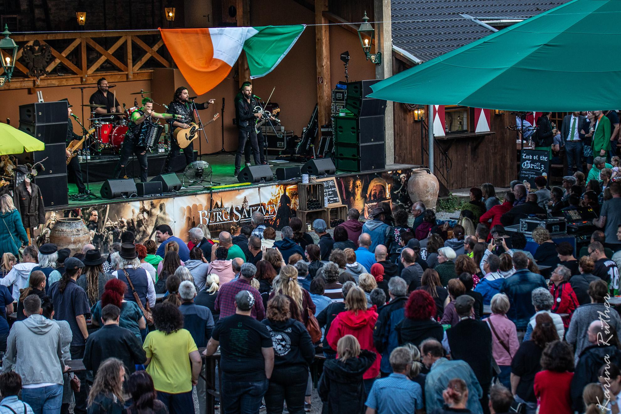 Irische Nacht auf Burg Satzvey 10. August 2019