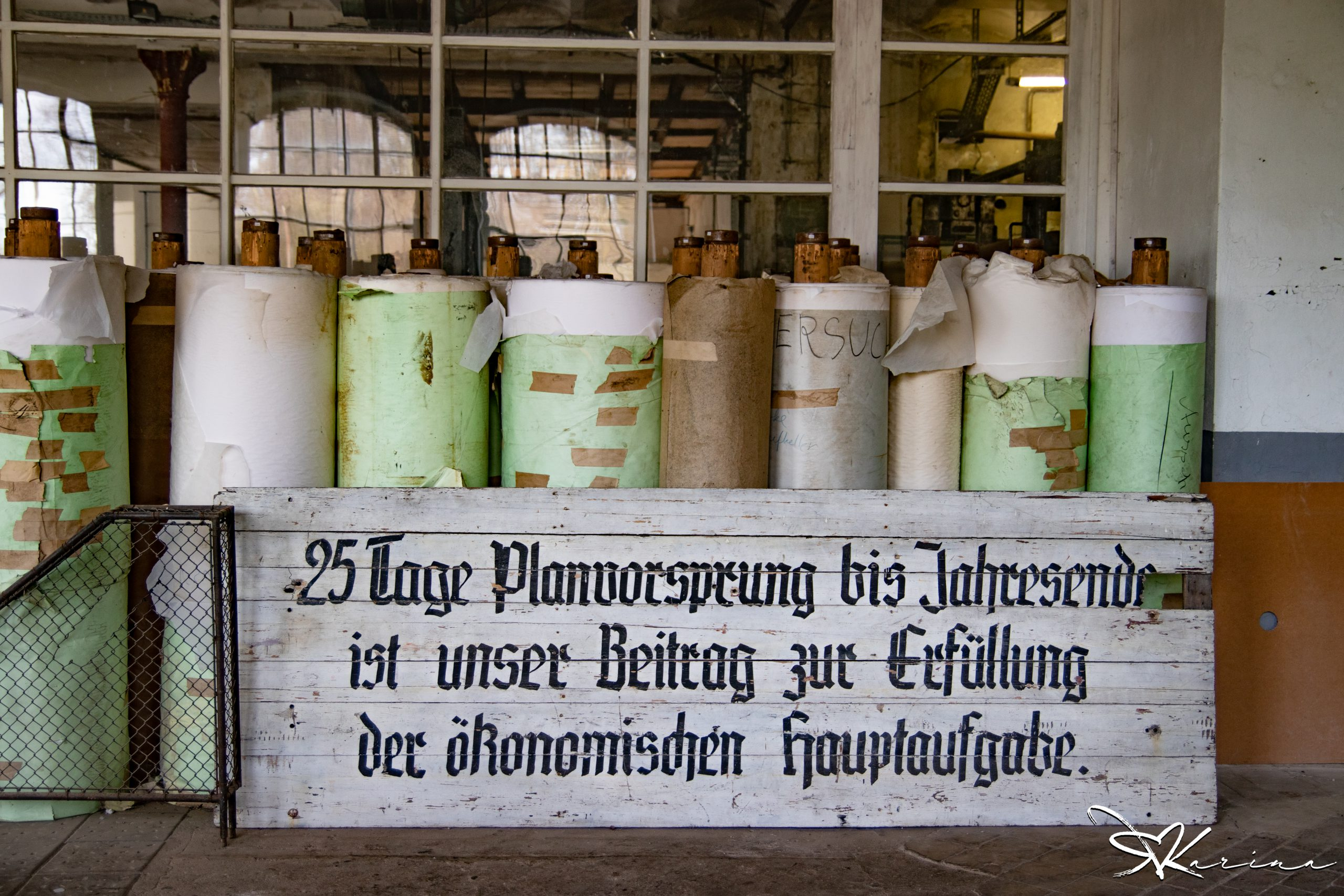 Lost Place: Die alte Papierfabrik in Brandenburg