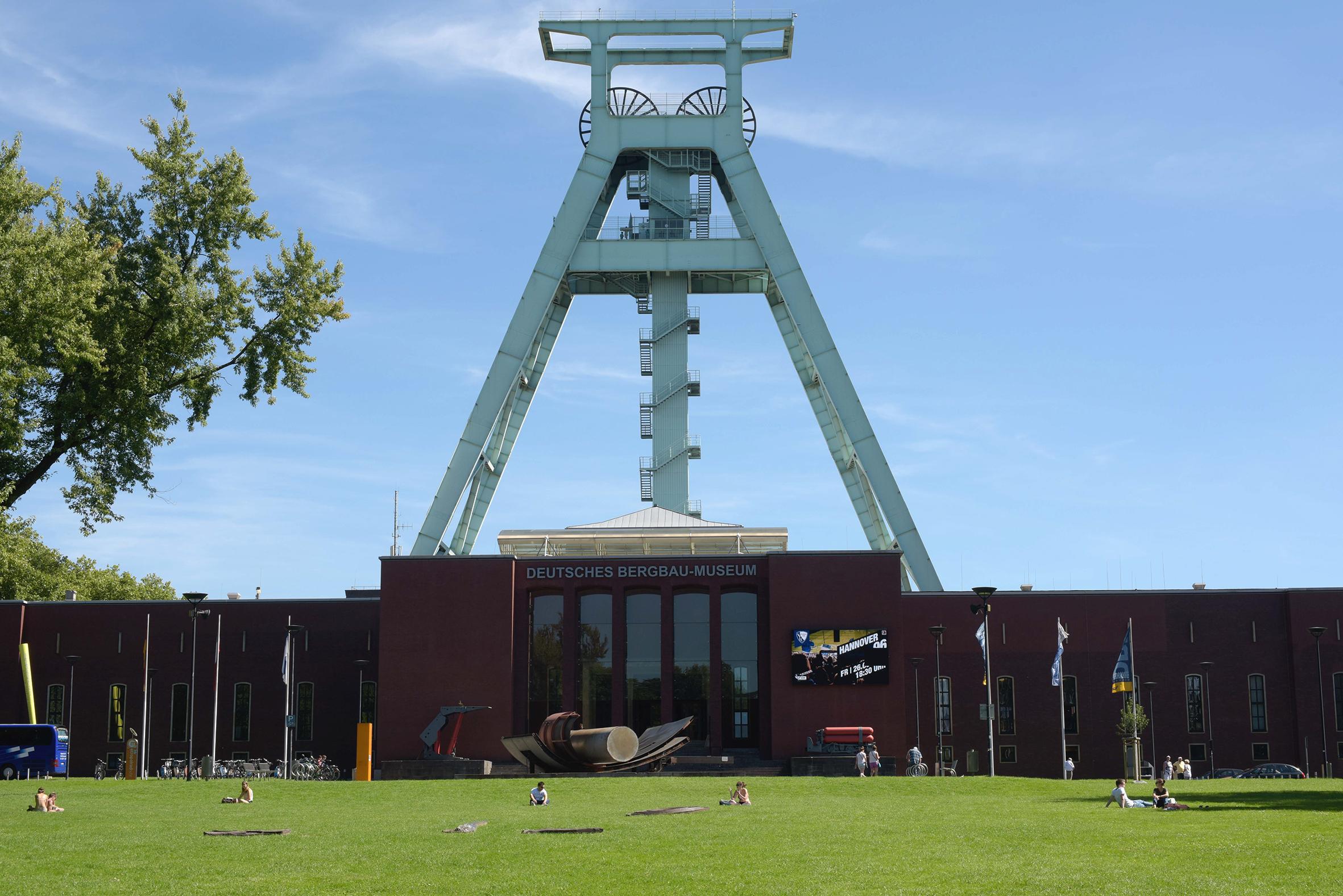 Deutsche Bergbau-Museum Bochum – ab 21.08.20 wieder mit Turmfahrt!