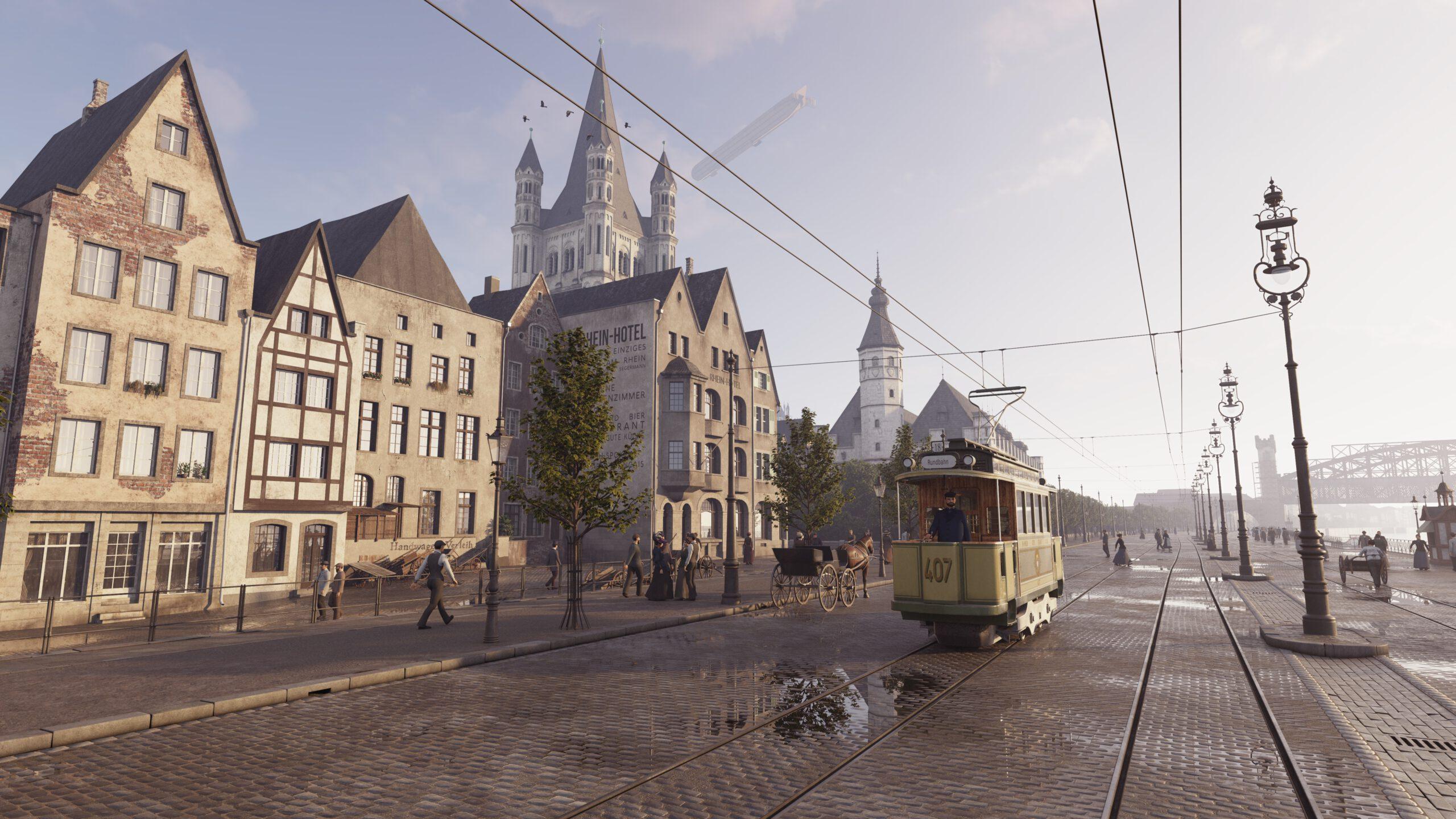 TIMERIDE in Köln – Zeitreise in das Cöln zur Kaiserzeit durch Virtual Reality