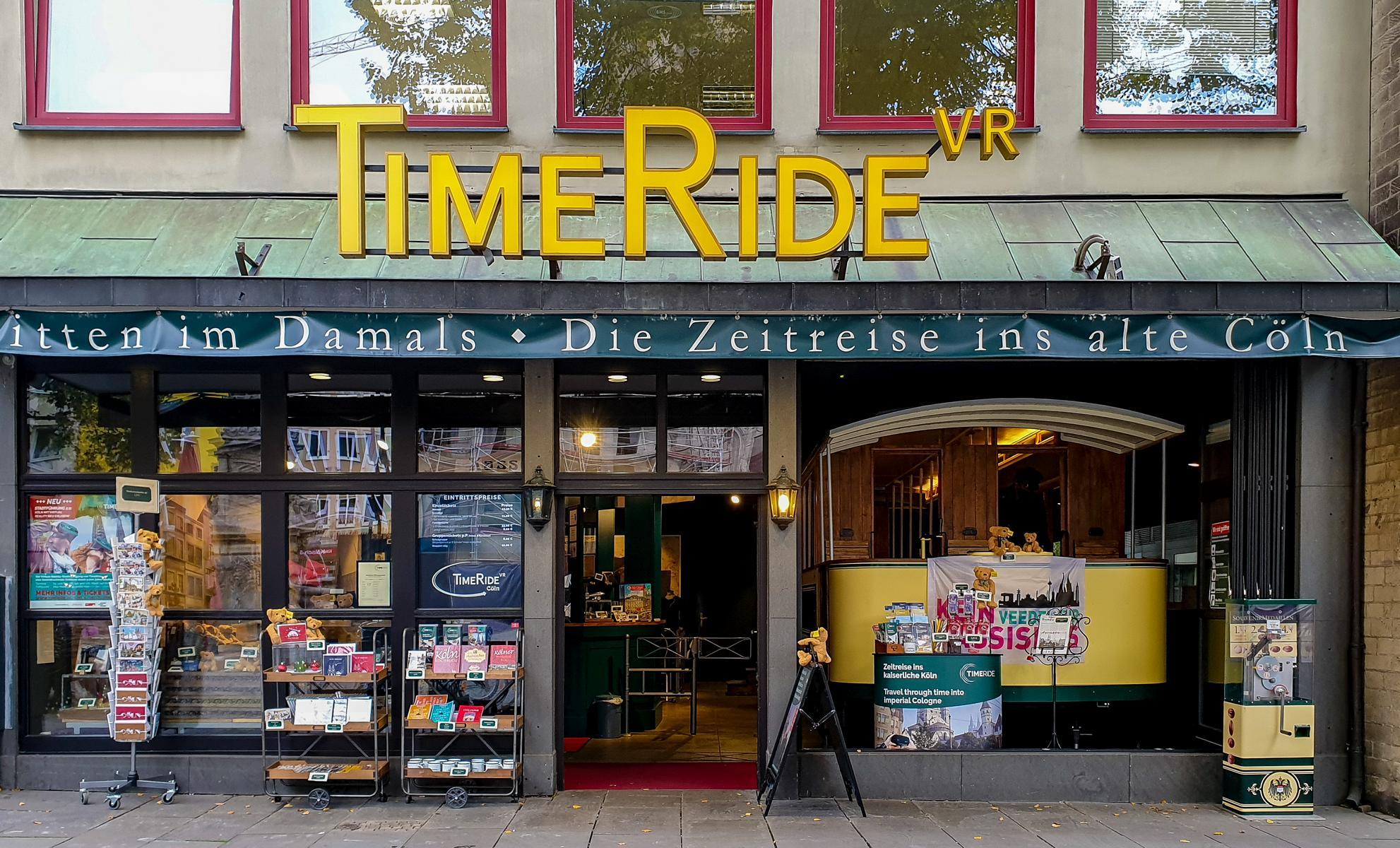 TimeRide VR Cöln am Alter Markt in Köln – mit der Straßenbahn in die Vergangenheit