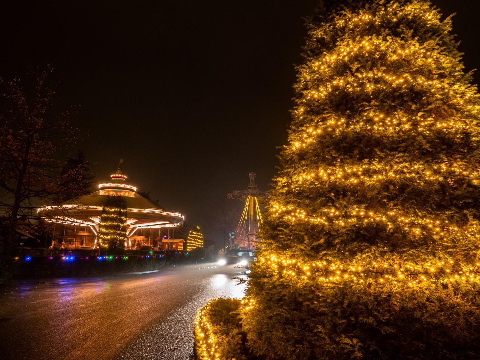"""""""Winter Wunderland Drive-In"""" – Der Auto-Weihnachtsmarkt in Kalkar bleibt geöffnet – auch an den Januarwochenenden"""