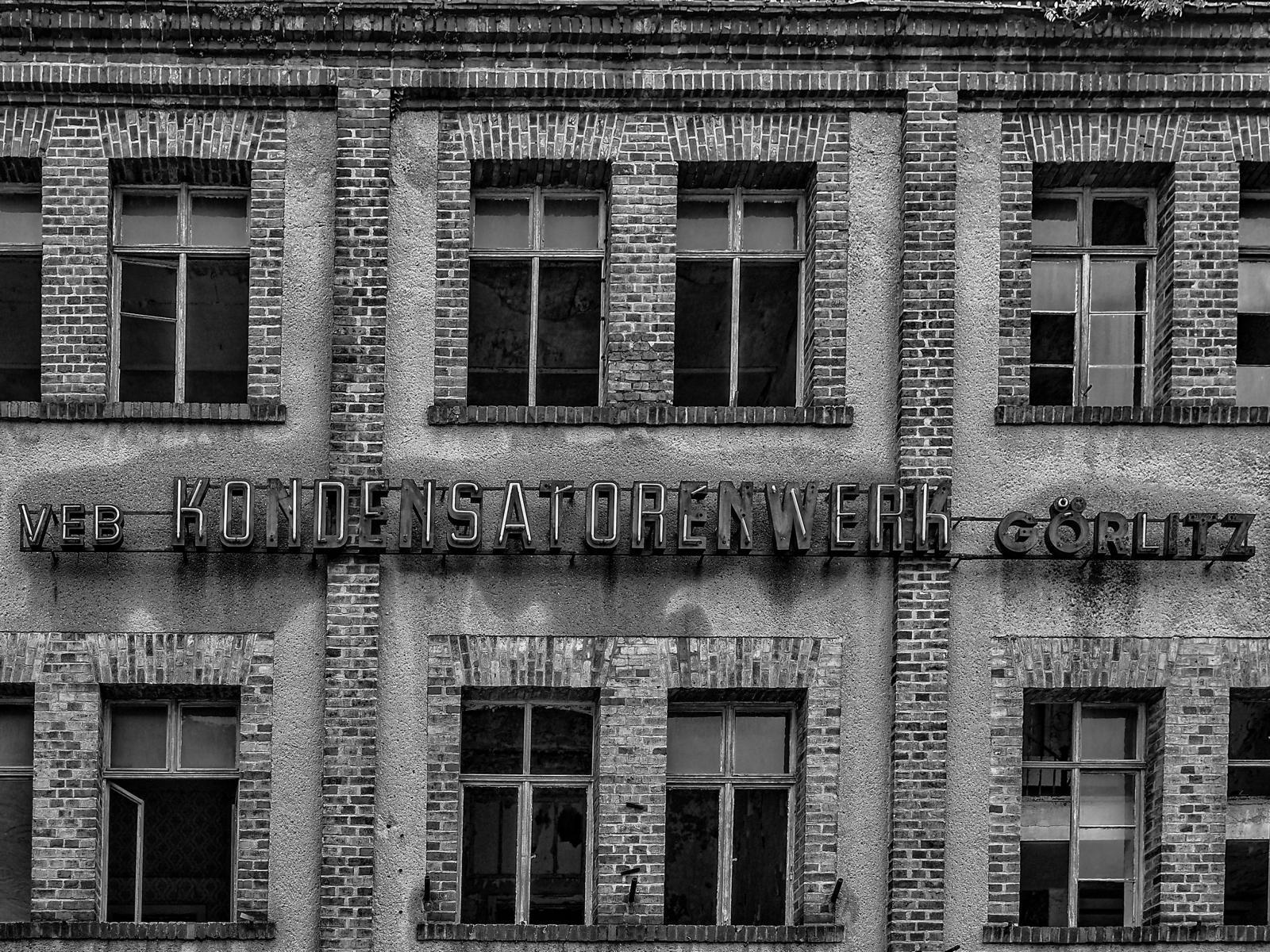 VEB Kondensatorenwerk Görlitz – Lost Place