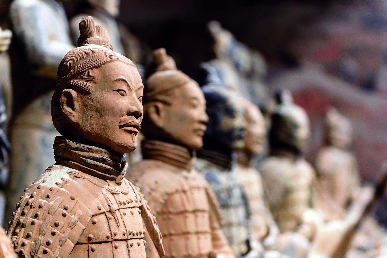 Chinas berühmte Terrakotta-Armee erobert das Technikum in Mühlheim an der Ruhr