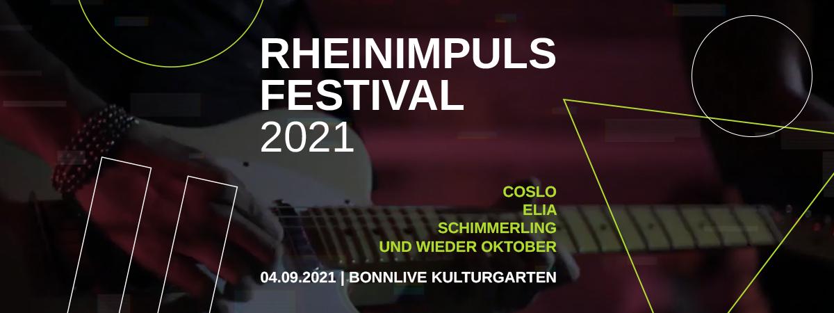 RheinImpuls Special am Samstag, den 4. September im BonnLive Kulturgarten