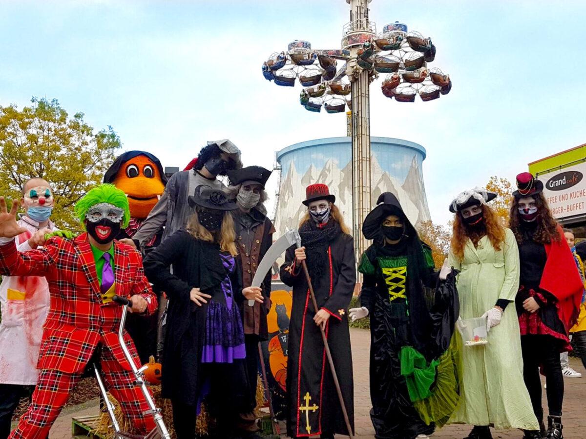 Schreck lass nach, es ist wieder Halloween in Kernie ́s Familienpark in Kalkar