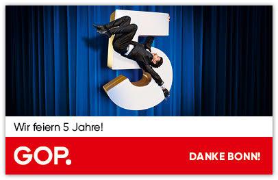 5 Jahre GOP Varieté-Theater Bonn
